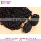 Wholesale top quality unprocessed virgin indian curl hair extensions 100% loose human hair bulk extension
