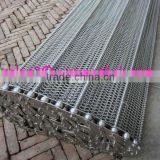 304 316 stainless steel flat flex wire mesh conveyor belt for pizza , chocolate , candy , bread industry