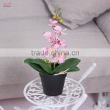 China factory high quality decorative fake plant artificial orchid home garden decoration artificial flower