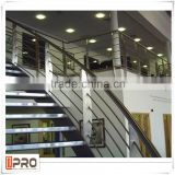 Most popular house plans aluminum handrail for stairs and glass balcony handrail for picture frames