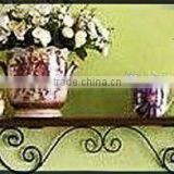 home decor metal wooden shelf decorative floating shelf,decor wall shelf,wall floating shelf/ hanging furniture