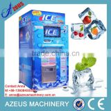 Self-service Ice water vending machine with ic card/coin/bill/give change/GSM remote monitor(option)