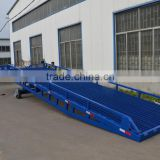 hot dipped galvanized hydraulic steel car forklift ramp hydraulic portable hydrauli portable ramp