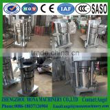 Good quality hydraulic oil press machine/ Soybean/sunflower/almond oil press