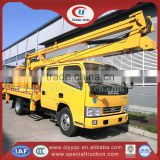 14m Aerial Platform Truck Dongfeng 4x2 Aerial Truck with Basket