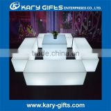 led bright outdoor plastic chair wedding lounge chair