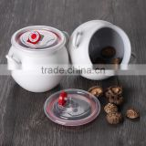 ceramic storage jar ,food storage canister with lid,ginger jar,Ceramic creamer and sugar pot set