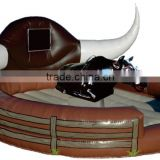 Hot sale amusement inflatable rodeo bull,inflatable sports game
