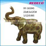 Custom resin indian elephant statues