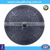 10 ft Outdoor Patio Half Round Umbrella Base Stand Resin Stand Umbrella Base Parts Outdoor