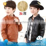 Fancy children clothing china supplier wholesale price wool baby boy clothing kids fur warm winter coat of 2-7 years