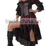 Dark knight spirit cloak cape clown carnival costume