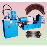 brake shoe and lining riveting machine, horizontal riveting machine