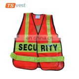 Top selling roadway worker wearing safety waistcoat for traffic protection