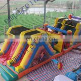 0.55mm PVC tarpaulin inflatable obstacles OT001