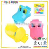 2015 New Design Plastic Duck Whistle Toy for Kids
