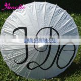 A6254 Cheap wedding parasols with I DO printing