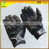 Full Finger Cow Leather Motorcyle Gloves Sport Gloves