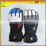 Popular Custom Logo Band Winter Snowboard Ski Glove