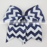 Large grosgrain cheer bow for cheerleading team