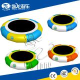Lake inflatables water games / inflatable water trampoline best qualtiy PVC inflatable floating island