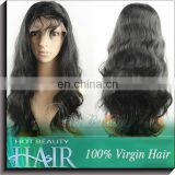 Ample supply and prompt delivery italian yaki human hair full lace wig