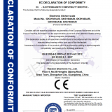 Kitchen scale CE certificate