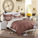 New fashion china factory 100%cotton palid kids quilt cover bedding set, child comforter set