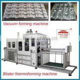 PET supply plastic vaccum forming machine for making PP PET PVC PS