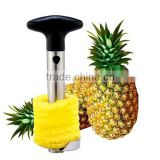 Stainless Steel Pineapple Easy Slicer and De-corer Pineapple Corer Slicer Cutter Peeler Stainless Steel Kitchen Gadget
