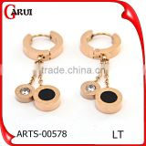 Alibaba Online Shopping Costume Jewelry Earrings For Women Rose Gold                                                                         Quality Choice