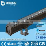 18W 24W RGB Outdoor Wall Washer Lighting DMX Wall Washer LED Garden LED Recessed wall Washer