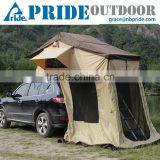 Outdoor Canvas Roof Top Tent Car Tent Gazebo Car Rooftop Pop-up Camping Car Tent