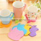 2015 new arrival apple shape coaster cup decoration 16G JCH-005