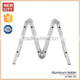 Aluminium Multifunctional emergency escape pole ladder locking hinge