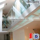 glass railing for stairs with AS/NZS2208