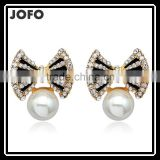 2016 Hot Sell Korean Style Simulated Pearl Earring ForWomen DRJ0548