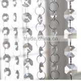 Hotel room decorating crystal chains, crystal bricks, crystal pendant stones,crystal curtains