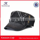 wholesale custom made embroidery patch high quality snapback army cap