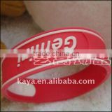 Fashion soft pvc wristband