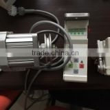 550W Brushless Energy Saving Sewing Machine Servo Motor With Control Box