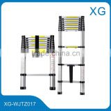 Aluminium telescopic step ladders Portable lightweight 3.2m telescopic ladders