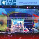 LAMP indoor P10mm LED animation display for background