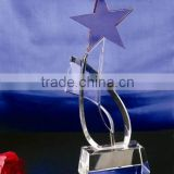 Models Custom Acrylic Trophy with Star