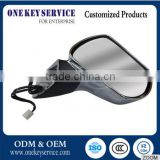Be friendly in use and moderate price of electroplate side rear view mirror