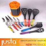 silicone kitchen utensils with stainless handle silicone soup ladle household appliances