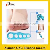 Fashion factory silicone pedicure slipper and toe separator
