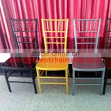 Top Quality China Factory Plastic Chiavari Chair in Different Color