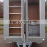 Small car trailer, Portable Toilet, Movable trailer Toilet