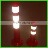 high brightness warning flexible delineator post